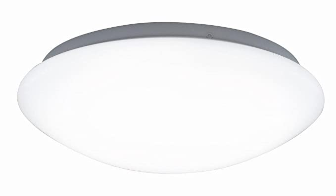 Plafoniere Con Led Integrato : Vivida frisbee plafoniera led integrato w bianco amazon