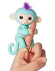 Fingerlings aapjes interactief speelgoed, reageert op geluiden, bewegingen en aanrakingen