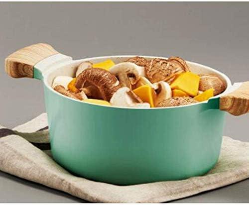 CJTMY Marmite Gratuite en Acier Inoxydable avec Couvercle for cuisinière Couvercle de Casserole en Acier Inoxydable Argent (Size : Large)