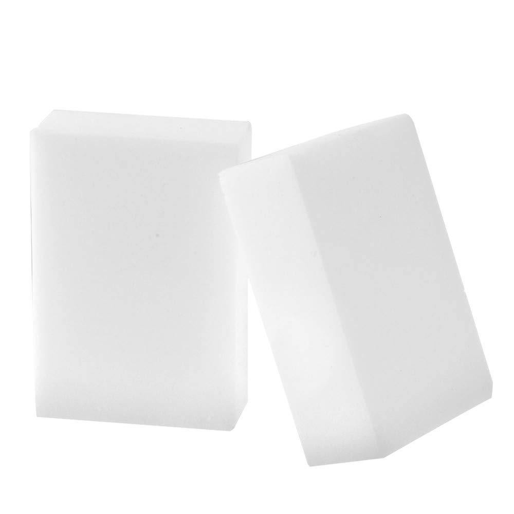 Useful and Soft White Magic Sponge Eraser Cleaning Melamine Foam Cleaner Kitchen Pad for Kitchen 40 PCs Household Wenini Magic Sponge Eraser