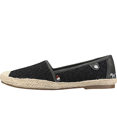 Lacets Femmes Embroidered Espadrille Casual Sans Chaussures Mustang qpYRxAA