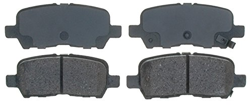 ACDelco 14D999CH Advantage Ceramic Rear Disc Brake Pad Set with Hardware