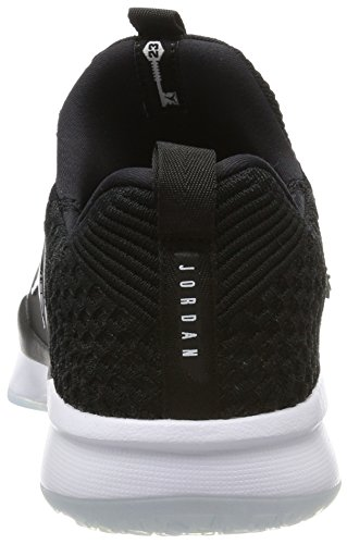 Schwarz 2 Nike Herren Trainer Black Gymnastikschuhe Black Flyknit white Jordan xnvnC