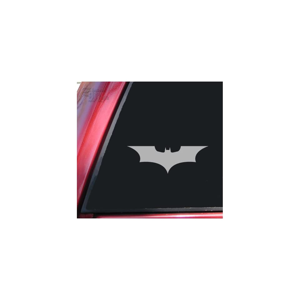Batman Begins / The Dark Knight Vinyl Decal Sticker   Grey