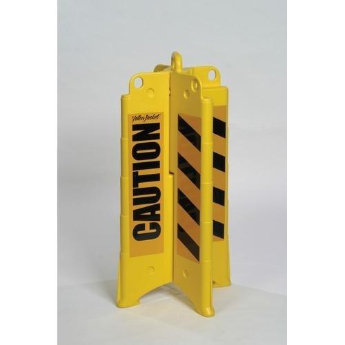 Accuform FBX202, Cross-Four Barricade with Legend: ''Caution''