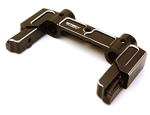 Integy Alloy Rear Bumper (Integy RC Model Hop-ups C27131BLACK Machined Alloy Rear Bumper Mount for Axial 1/10 SCX10 II (43mm) (#90046-47))