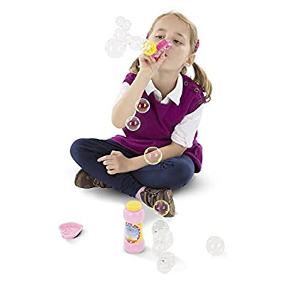 Melissa & Doug Sunny Patch Bella Butterfly Bubble Blower: Melissa & Doug: Toys & Games