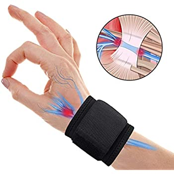 Carpal Tunnel LCKICO Wrist Brace for Ganglion Cyst for Left and Right Hand Man and Woman Breathable Sport//Fitness Wrist Support Arthritis