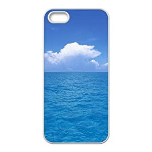 Customized case Of Sea Ocean Hard Case for iPhone 5,5S