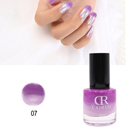 Price comparison product image Hot Sale! Temperature Colors Change Gel Nail Polish Chameleon Color Gel Polish Nail Art Decoration (G)