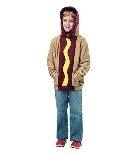 [Rasta Imposta Hot Dog Hoodie, 4-6] (Hot Dog Costume Women)