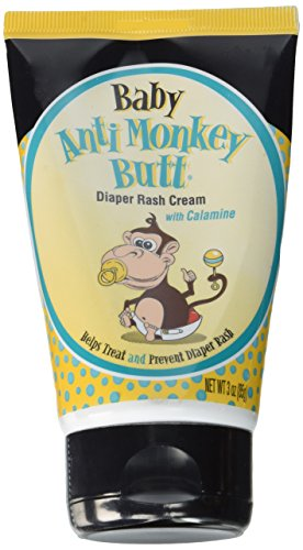 Anti Monkey Butt Baby Diaper Rash Cream with Calamine -- 3 o