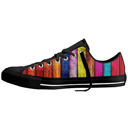 VIRGINIA CEZAIR Nice Color Classical Casual Without Lace Shoes Pumps Sneakers Canvas Shoes Sneaker Walking Canvas Shoes Sport Shoes Vulcanized Sole Shoes
