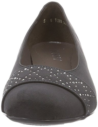 Grey 06 Grey Grau pumps Jenny Catania Closed Women's qxI0Y
