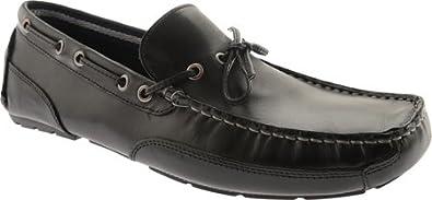 Clarks Mens Circuit Pic Slip-On Loafer,Black,7.5 ...
