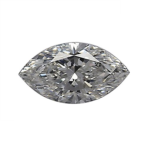 GIA Certified Marquise Cut Natural Loose Diamond 0.75 Carat E Color VS2 Clarity - 3/4 Ct (Vs2 Loose Diamonds Marquise)