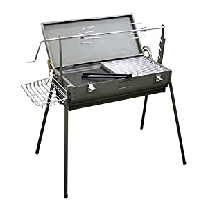 Amazon.com: Evelyne gmt-10272 con manual asador asador de ...