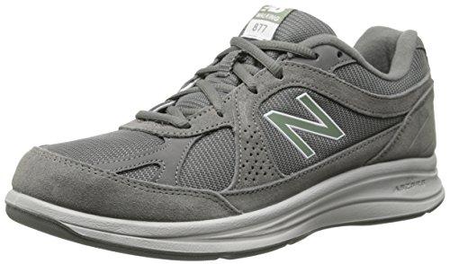New Balance Men's MW877 Walking Shoe, Grey, 7.5 2E US
