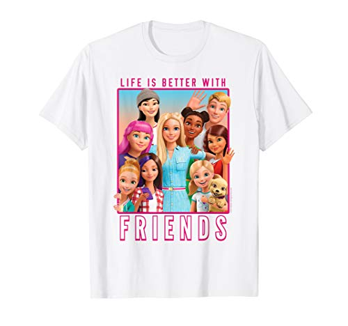 Barbie Dreamhouse Adventures With Friends T-shirt