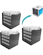 Arctic Air Cooler Filter Vervangingsfilter bevat 30 papierlagen voor Mini Air Cooler Fan en Mini Mobiele Air Conditioners - The Original from the TV | Pack van 3 (One Generation Air Cooler Filter)