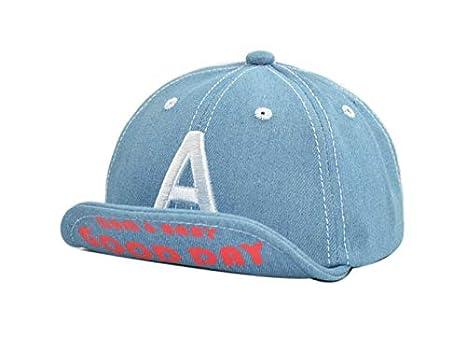 Sombrero lindo del bebé Gorra de béisbol para niños con visera al aire libre para niños de 6,33 meses: Amazon.es: Bebé
