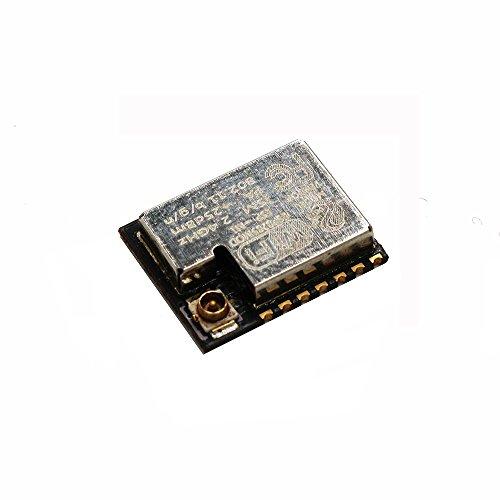 Sunhokey 2pcs ESP-M1 ESP8285 ESP8266 1M Flash Chip Wifi Wireless Module Serial Port Ultra Transmission With External Antenna Interface FZ2735 by Sunhokey