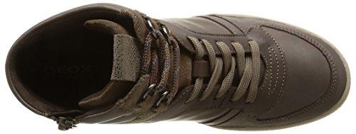 Calzado deportivo para mujer, color Negro , marca GEOX, modelo Calzado Deportivo Para Mujer GEOX Negro marr�n