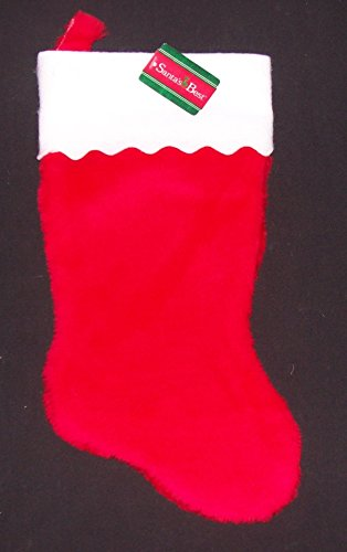 3 Red Christmas Stockings 14