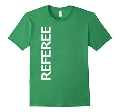 [Mens Referee Sport Uniform-Costume Jersey Shirt Small Grass] (Referee Shirts Costume)