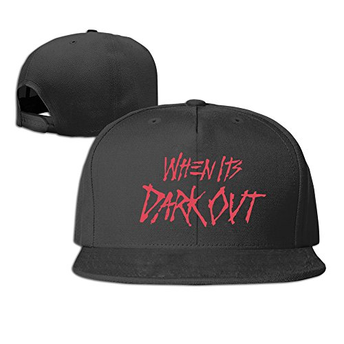 Adult G-Eazy When It s Dark Out Baseball Hat Black - Buy Online in Oman.  6a5eb50630c3