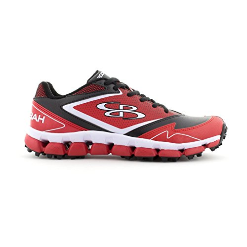 Boombah Women's A-Game Turf Black/Red - Size 6
