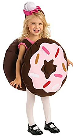 Rubie's Trick Or Treat Sweeties Dunk Your Doughnut Costume, Pink, Infant