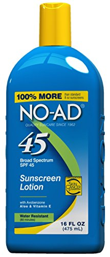 Price comparison product image NO-AD Sunscreen Lotion SPF 45 -- 16 fl oz