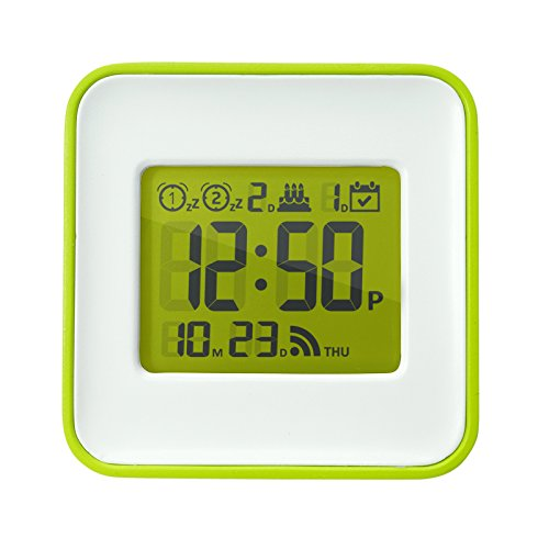 Smart Travel Alarm Clock, Automatically set your Clock and Alarm through your Smart Phone, iOS and Android Compatible