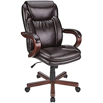 Amazon Com Thomasville Bonded Leather High Back Chair