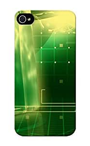 New Abstract Green Tpu Case Cover, Anti-scratch Runandjump Phone Case For Iphone 5/5s