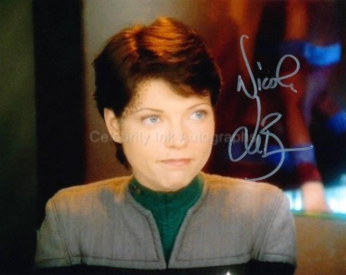 NICOLE DE BOER as Ezri Dax - Star Trek: Deep Space Nine Genuine Autograph from Celebrity Ink