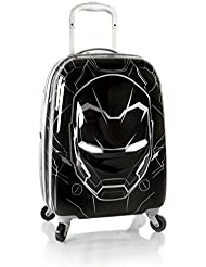 Marvel Captain America Boys 3D Pop Up 20 Hardside Spinner Carry On Expandable Luggage