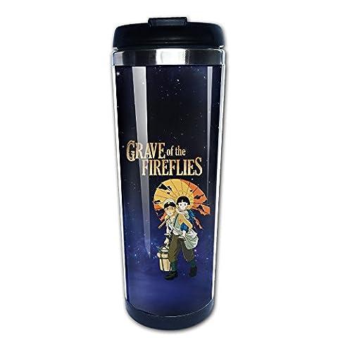 Grave Of The Fireflies Japanese Animated Travel Coffee Mug Water Bottle (Digimon Travel Mug)