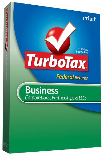 TurboTax Business Federal + efile 2009 [Old Version]