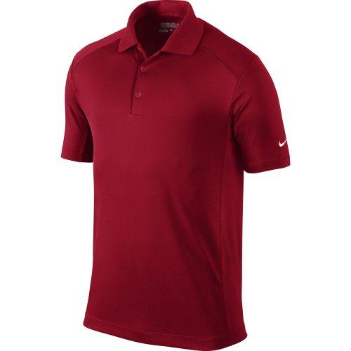 Nike Golf Mens Victory Polo TEAM CRIMSON/WHITE S
