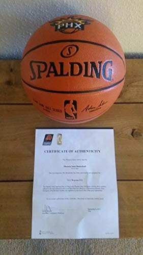 Tj Warren Authenticated Autographed Signed Official NBA Basketball - Authentic Memorabilia ()