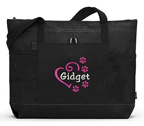 Personalized-Dog-Embroidered-Tote-Bag-Pet-Gear-Travel-Bag
