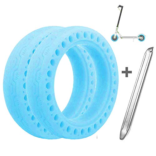 Suremita 2 Pieces Tires for XIAOMI M365, Tubeless