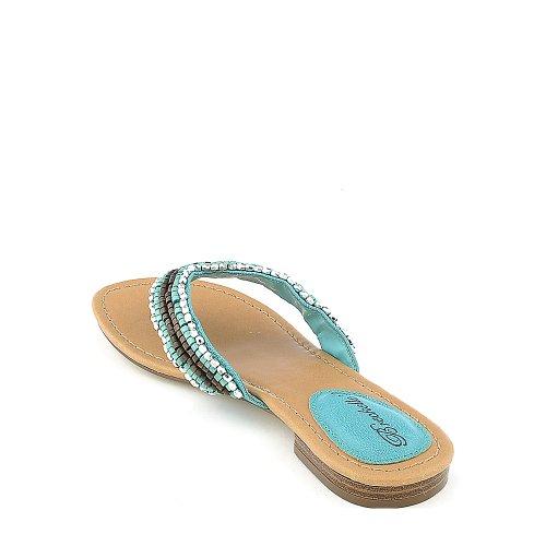 Breckelles Kvinners Lilly-02 Sandal Aqua