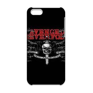 JiHuaiGu (TM) iPhone 6 6S Plus 5.5 Inch funda Avenged Sevenfold personalizado temático iPhone 6 6S Plus 5.5 Inch funda OJ8620