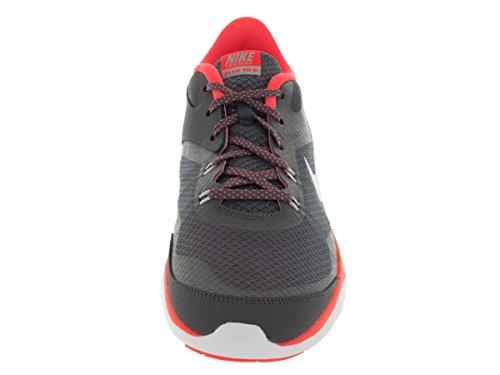 Nike Wmns Flex Trainer 5 - drk gry/mtllc slvr-hypr orng-s