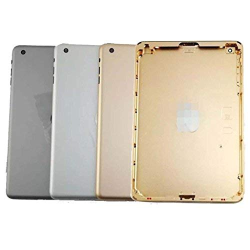 New Metal Rear Housing Back Case Battery Door Cover With Iogo for iPad Air 2 A1566 Wifi -