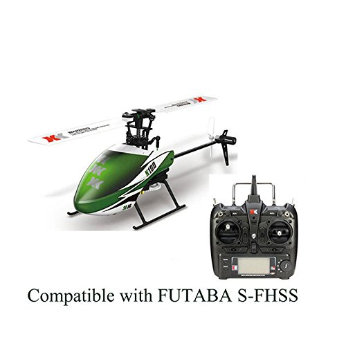Studyset RC Drone XK K100 6CH 3D 6G System Brushless Motor RC Helicopter Gift for Kids ()