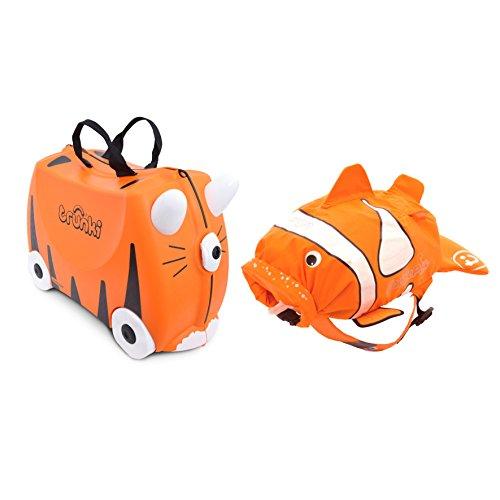 TRUNKI-Juego-de-maleta-y-mochila-naranja-Naranja-0260-GB01